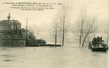 Catastrophe MONTREUIL BELLAY Train Angers Poitiers 1911 Rescapés secours 10 H