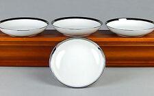 Set of 4 Dessert / Fruit Bowls, MINT & NEAR MINT! Athene, James Chatelaine