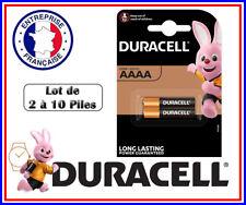 Piles DURACELL AAAA / LR61 / MN2500  1,5 Volts Alcaline