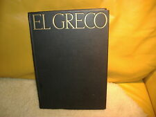 EL GRECO LONDON: GEORGE ALLEN & UNWIN LTD 1938