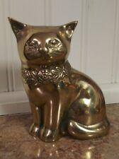 Vintage Brass Cat