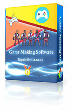 Game Making Software Design Create Make Play Upload Professional For Windows