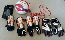 Soccer Jimmy Football Soccer Training Ball + achilles protector + reusch gloves