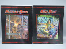 Shatterzone 2 RPG Roleplaying Game Books Player's Guide Rule Book West End New
