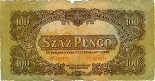 Ungarn - 1944 - 100 Pengö (Száz Pengö) Rote Army - Banknote