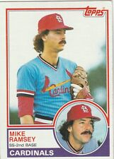FREE SHIPPING-MINT-1983 (CARDINALS) Topps #128 Mike Ramsey