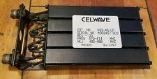 Celwave 4-Cavity 440-474 Mhz | Preselector Filter 633-4A-Lp Uhf Band