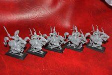 Warhammer High Elf Ellyrian devastadores X 5 Isla de Sangre (De plástico) sin pintar