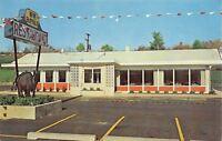Duncannon Pennsylvania~New Buffalo Restaurant~Colorful Pennant String 1950s