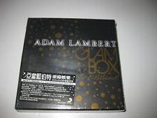 Adam Lambert For Your Entertainment Taiwan Ltd Glam Box CD RARE New Sealed