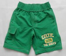 CELTIC  BHOYS GREEN BOARD SHORTS AGE 4-5 YEARS  CELTIC MERCHANDISE BRAND NEW