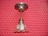 Dekorative Lampe Deckenlampe im Art Deco Stil ca. 50 Jahre alt