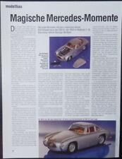 MODELLBAU BBURAGO MERCEDES-BENZ 300 SL in 1-18.... ein Modellbericht   #1991
