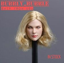 1/6 American European Female Head Sculpt For Phicen Hot Toys SHIP FROM USA