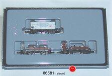 Märklin 86581 Spur Z Güterwagen-Set der DB 3-teilig #NEU in OVP#