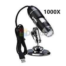 USB 2.0 Digital Handheld Microscope Endoscope Magnifier Camera 1000X X4D-30W-C
