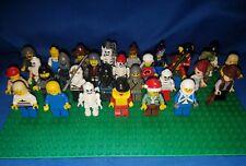 Bulk lot 25 Lego minifigures + accessories retired & current
