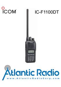 Icom IC-F1100TD Portable Radio 5W IDAS Digital & Analog (VHF 136-174)  F1000T