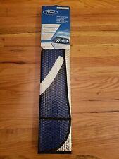 """Ford Blue Script Accordion Auto Sunshade Plasticolor # 003704R01 58"""" x 27.5"""""""