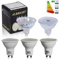 8/10x MR16 GU10 3W 5W 6W LED Bulbs SMD Lamp A++ Rating Spotlight Downlight GU5.3
