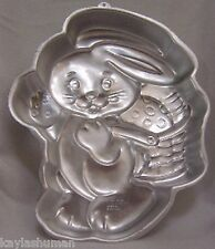 Wilton Cake Pan Special Delivery Bunny 1991