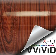 "Red Cedar Architectural Gloss Wrap Vinyl Wood Grain DIY 3ft x 48"" VViViD Sheet"