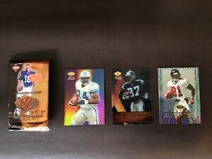 2000 Collector's Edge Masters NFL Opened Pack Mathis, Mohammad, Stewart All #'d