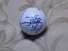 JEE YOUNG LEE AUTOGRAPHED LPGA GOLF BALL W/COA