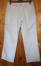 "Banana Republic Relaxed Fit Waist 31"" Leg 30"" Casual Trousers Light Sand Neutral"