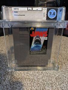Jaws (Nintendo NES) 5-Screw - Ultra Rare - Grail - WATA 7.5