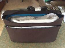 "Knomo of London Bungo 15.6"" Brown Leather Laptop Bag"