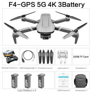 Drone F4 GPS 4k HD Camera 5G Wi-Fi folding Brushless 2Km Flight Distance Sale