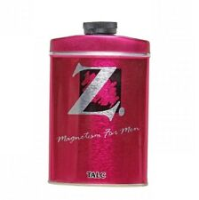 5 PACK OF NEW Z TALCUM POWDER MAGNETISM FOR MEN 100 GRAM WITH LOW SHIPPING COST