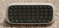 Microsoft Xbox 360 Chatpad Keyboard Controller Attachment - White