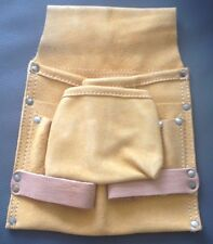 Single Tool & Nail Pouch real suede leather