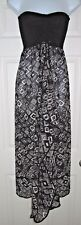 Raviya Maxi Cover Up  73839  Black/White - Small - NEW w/Tags