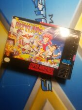 SNES Super Nintendo Cacoma Knight In Bizyland Box Only Free Shipping