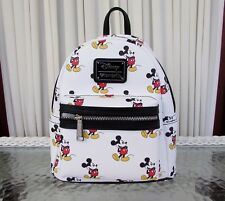 Loungefly Disney Mickey Mouse Allover print Mini Backpack NWT