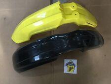 2012 Suzuki RM-Z450 Acerbis Fender Lot Of Two Black & Yellow 200000794  NOS