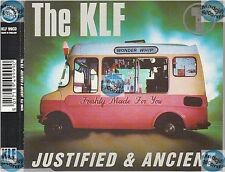 THE KLF JUSTIFIED & ANCIENT uk CD MAXI
