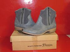 Tom Tailor Chieti 638100, Damen Cowboy Stiefel, Blau (jeans blue 67), EU 39