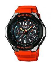 Casio G-shock Watch GW-3000M-4AER sky cockpit solar wave black&orange F/S Track#