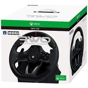 Xbox One Steering Wheel Pedal Set Series x Hori RWO Racing Gaming Driving