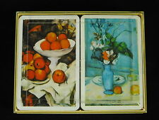 Piatnik Collectible Art Playing Cards Poker Still Life Fruit Flowers Two Decks