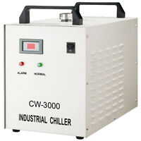 S&A CW-3000DG Thermolysis Industrial Water Chiller for Laser EngraS&A Cutter