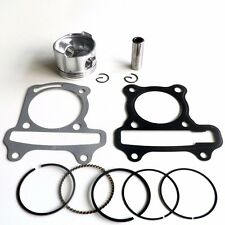 47mm 80cc Scooter Piston, Pin & Rings Kit Gasket GY6 50cc 139QMB