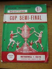 27/03/1965 Scottish Cup Semi-Final: Motherwell v Celtic [At Hampden Park] (punch