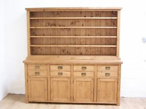 OLD RECLAIMED PINE SOLID WOOD FARMHOUSE STYLE DRESSER WE CAN MAKE ANY SIZE