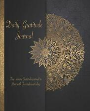 Daily Gratitude Journal by Vibrant Life Books Paperback NEW Book