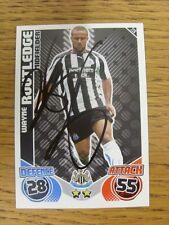 "2010/2011 AUTOGRAFO: Newcastle United-Routledge, Wayne [firmato a mano ""TOPPS MAT"